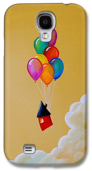 Balloons Galaxy S4 Cases - Life Of The Party Galaxy S4 Case by Cindy Thornton