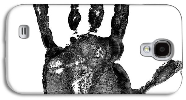 Free Mixed Media Galaxy S4 Cases - Lifeline - Free Hand Galaxy S4 Case by Michal Boubin