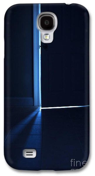 Creepy Galaxy S4 Cases - Light Behind the Door Galaxy S4 Case by Diane Diederich