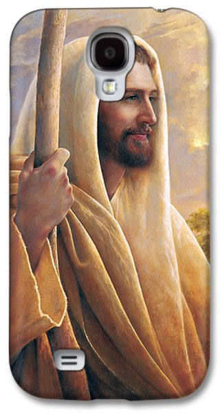 Jesus Art Galaxy S4 Cases - Light of the World Galaxy S4 Case by Greg Olsen