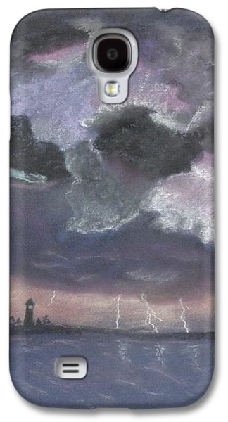 Storm Pastels Galaxy S4 Cases - Light Show Galaxy S4 Case by Donna R Kennedy