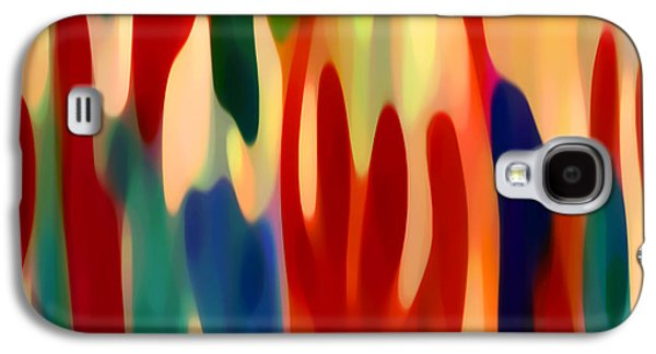 Abstract Movement Galaxy S4 Cases - Light Through Flowers Galaxy S4 Case by Amy Vangsgard