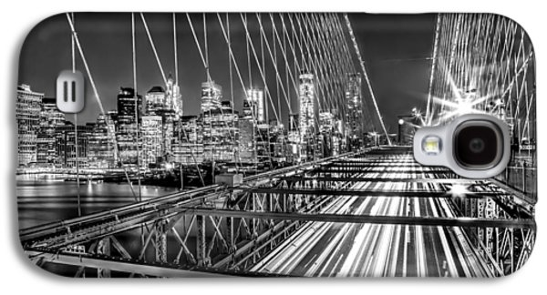 Recently Sold -  - Light Galaxy S4 Cases - Light Trails Of Manhattan Galaxy S4 Case by Az Jackson