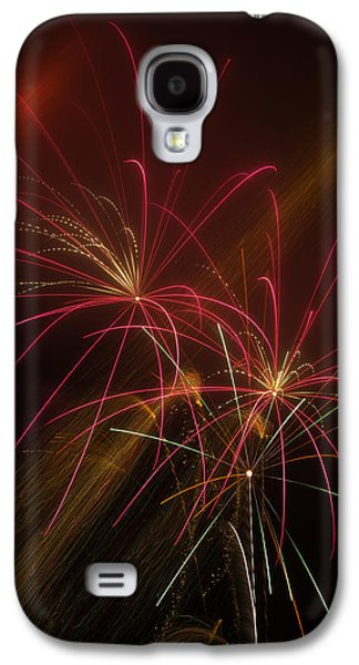 Pyrotechnics Galaxy S4 Cases - Light Up The Night Galaxy S4 Case by Garry Gay