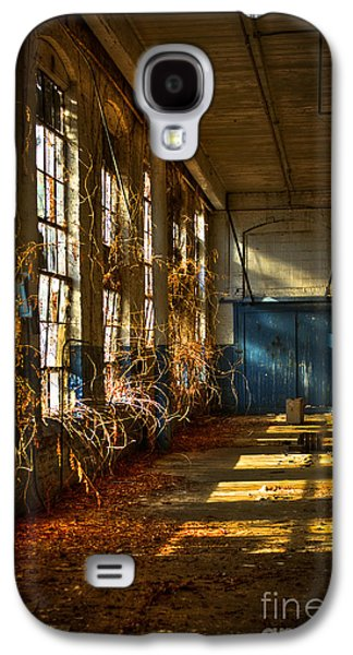 Glass Wall Galaxy S4 Cases - Lightroom too Mary Leila Cotton Mill 1899 Galaxy S4 Case by Reid Callaway