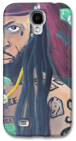 Lil Wayne Galaxy S4 Cases - Lil Wayne Diptych no. 2 Galaxy S4 Case by Casey P