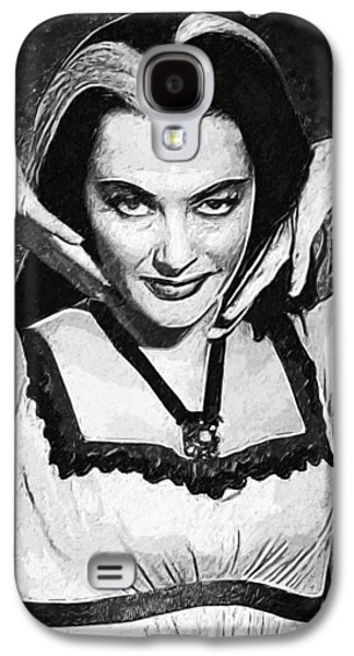Lily Munster Galaxy S4 Case by Taylan Soyturk