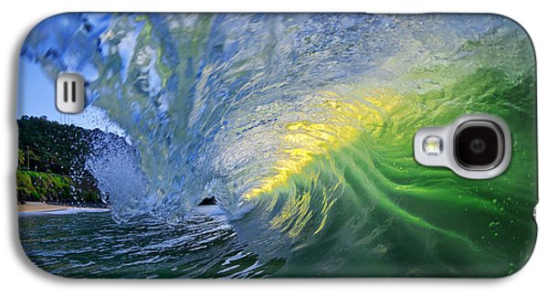 Ocean Art Photography Galaxy S4 Cases - Limelight Galaxy S4 Case by Sean Davey