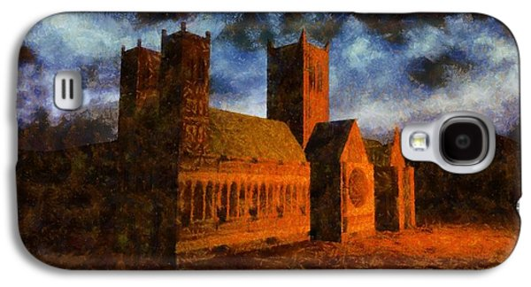 Religious Galaxy S4 Cases - Lincoln Cathedral Galaxy S4 Case by Esoterica Art Agency