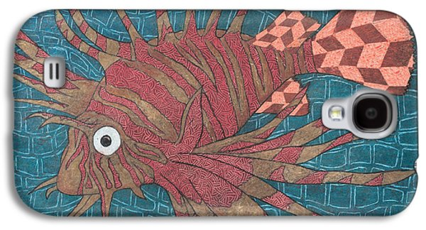 Nature Abstracts Galaxy S4 Cases - Lion Fish Galaxy S4 Case by Ricardo Gonzalez