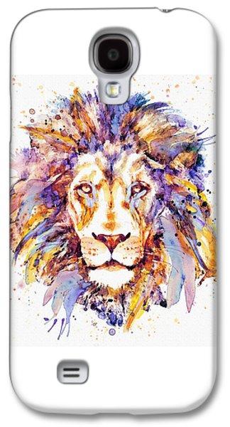 Lion Head Galaxy S4 Case by Marian Voicu