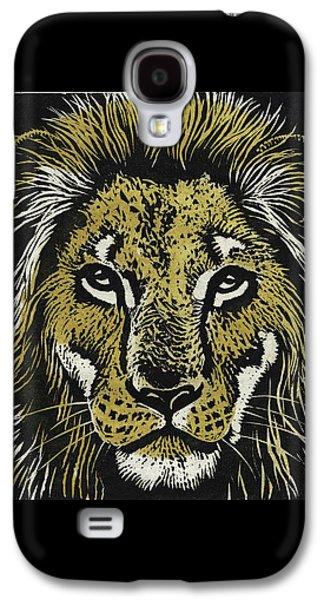 Lion Galaxy S4 Case by Robert McIntosh