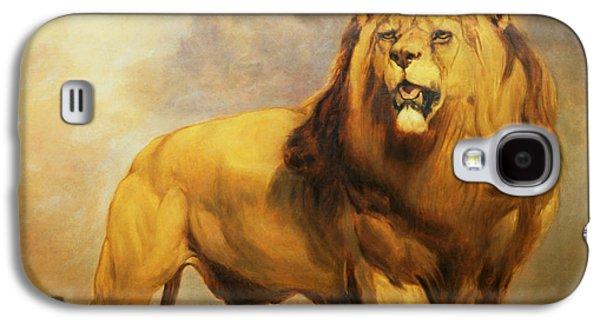 Lion  Galaxy S4 Case by William Huggins