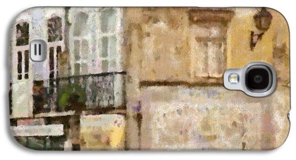 Portuguese Mixed Media Galaxy S4 Cases - Lisbon Wall Galaxy S4 Case by Dariusz Gudowicz