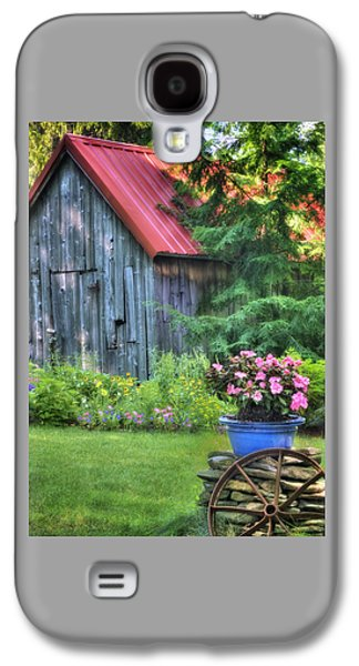 Litchfield Hills Summer Scene Galaxy S4 Case by Thomas Schoeller