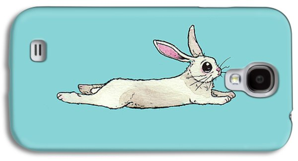 Little Bunny Rabbit Galaxy S4 Case by Katrina Davis