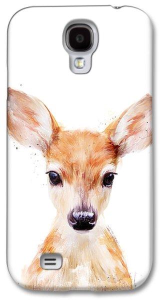 Fauna Galaxy S4 Cases - Little Deer Galaxy S4 Case by Amy Hamilton