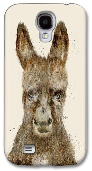 Donkey Digital Art Galaxy S4 Cases - Little Donkey Galaxy S4 Case by Bri Buckley