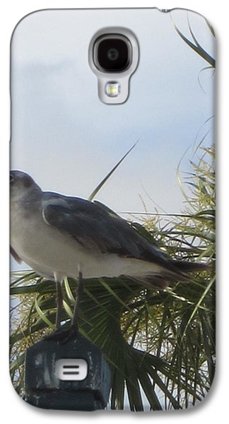 Abstract Landscape Galaxy S4 Cases - Little Dream Bird Galaxy S4 Case by Ashley Garrie