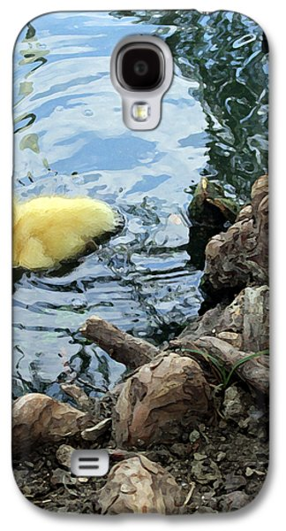 Tree Roots Galaxy S4 Cases - Little Ducky Galaxy S4 Case by Angelina Vick