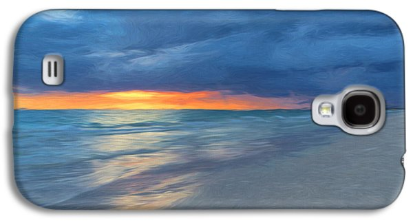 Landscapes Photographs Galaxy S4 Cases - Little Hickory Beach Galaxy S4 Case by Kim Hojnacki