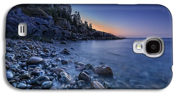 Maine Beach Galaxy S4 Cases - Little Hunters Beach Galaxy S4 Case by Rick Berk