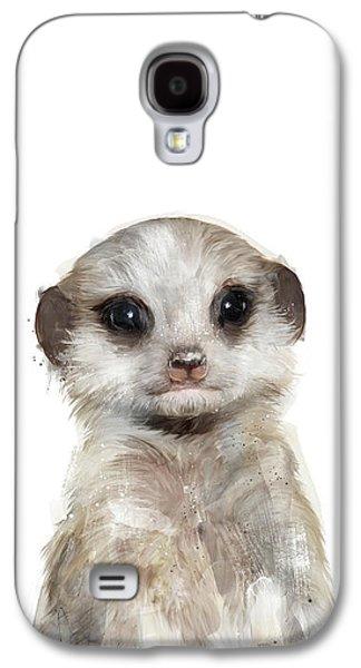 Little Meerkat Galaxy S4 Case by Amy Hamilton