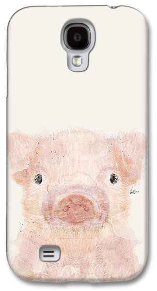 Little Pig Galaxy S4 Case by Bri B