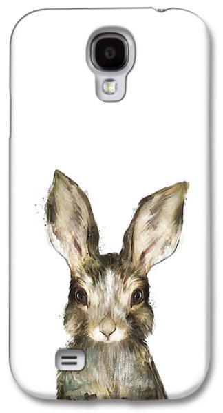 Fauna Galaxy S4 Cases - Little Rabbit Galaxy S4 Case by Amy Hamilton