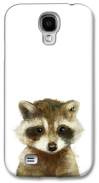 Fauna Galaxy S4 Cases - Little Raccoon Galaxy S4 Case by Amy Hamilton