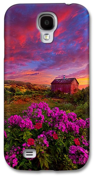 Sun Galaxy S4 Cases - Live In The Moment Galaxy S4 Case by Phil Koch