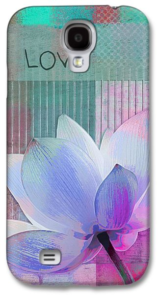 Square Format Digital Galaxy S4 Cases - Live n Love - 2922a Galaxy S4 Case by Variance Collections