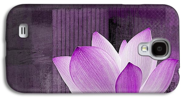 Variant Galaxy S4 Cases - Live n Love - cttt Purple Galaxy S4 Case by Variance Collections