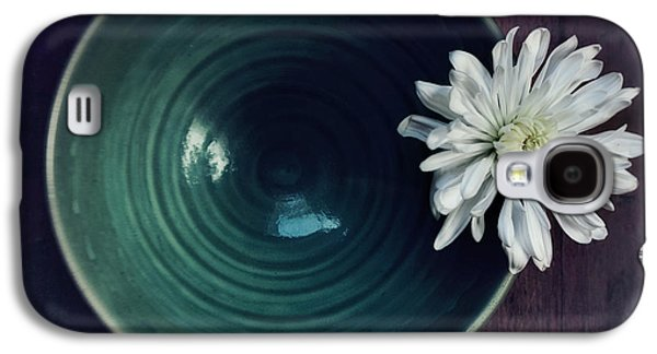 Flowers Galaxy S4 Cases - Live Simply Galaxy S4 Case by Priska Wettstein