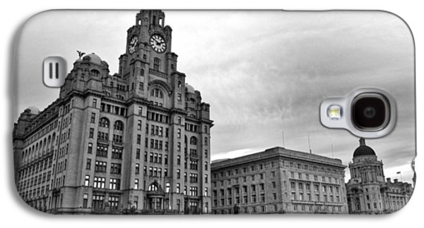 Beatles Galaxy S4 Cases - Liverpools Three Graces Galaxy S4 Case by Colin Perkins