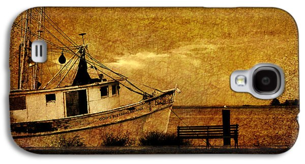 Boats In Water Galaxy S4 Cases - Living in the past Galaxy S4 Case by Susanne Van Hulst