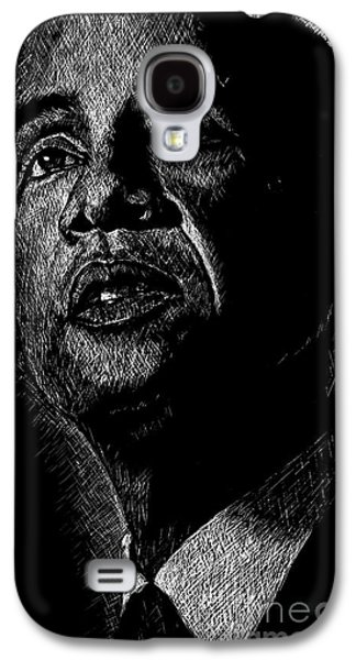 Obama Galaxy S4 Cases - Living the Dream Galaxy S4 Case by Maria Arango