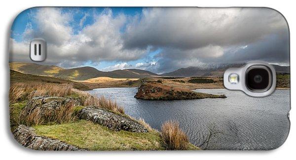 Waterscape Digital Galaxy S4 Cases - Llyn Y Dywarchen Galaxy S4 Case by Adrian Evans