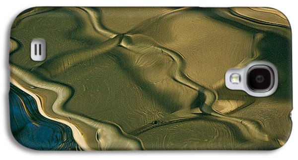 Colorful Abstract Galaxy S4 Cases - Lobster Boat Reflection Abstract #2 Galaxy S4 Case by Stuart Litoff
