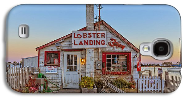 Food Stores Galaxy S4 Cases - Lobster Landing Sunset Galaxy S4 Case by Edward Fielding