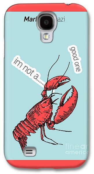 Animation Galaxy S4 Cases - Lobster Galaxy S4 Case by Mark Ashkenazi