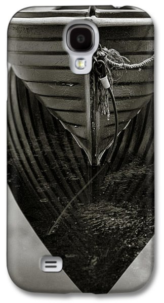 Boat Reflection Galaxy S4 Case by Dave Bowman