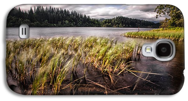 Stunning Galaxy S4 Cases - Loch Ard From the Reed beds landscape Galaxy S4 Case by John Farnan