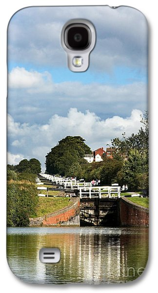 Pastimes Galaxy S4 Cases - Lock gates Galaxy S4 Case by Jane Rix