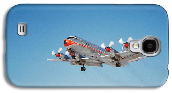 Lockheed L-188b Electra American Airlines Aal Galaxy S4 Case by Wernher Krutein