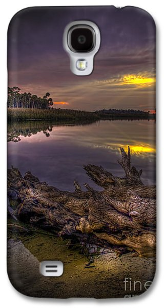 Park Scene Galaxy S4 Cases - Logging Out Galaxy S4 Case by Marvin Spates