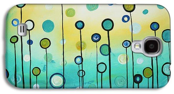 Lollipop Field By Madart Galaxy S4 Case by Megan Duncanson