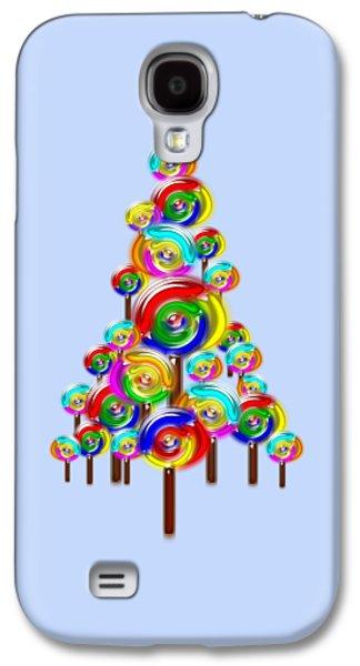 Lollipop Tree Galaxy S4 Case by Anastasiya Malakhova