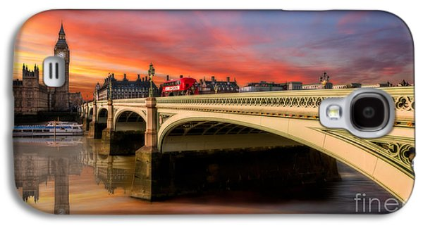 London Sunset Galaxy S4 Case by Adrian Evans
