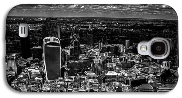 Landmarks Photographs Galaxy S4 Cases - London Town Galaxy S4 Case by Martin Newman